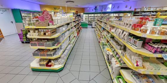 Virtueller Rundgang Aachen: Bio-Supermarkt Vital per Google Street View Trusted